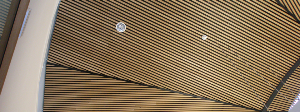 Dalhem Panel Veneered Incombustible Ribs
